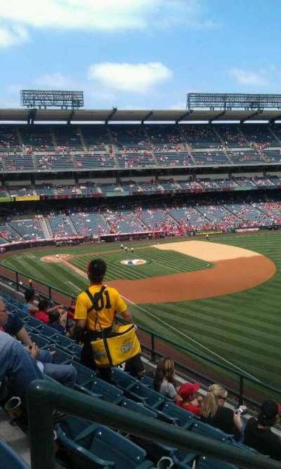 Angel Stadium, section: V431, row: f , seat: 1