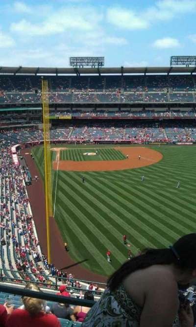 Angel Stadium, section: V540, row: a , seat: 7