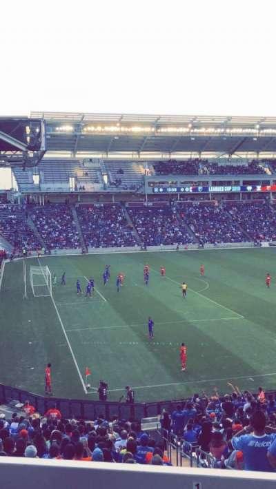 SeatGeek Stadium, section: 132, row: 25, seat: 5