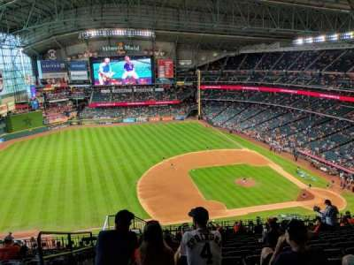Minute Maid Park section 411