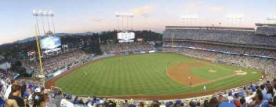Dodger Stadium, section: 31RS, row: H, seat: 9