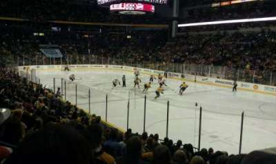 Bridgestone Arena, section: 118, row: C, seat: 1