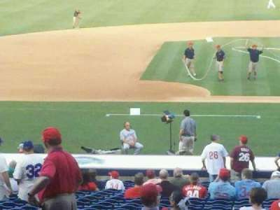 Citizens Bank Park, section: 130, row: 33, seat: 2
