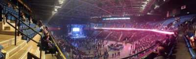 Mohegan Sun Arena, section: 115, row: B, seat: 12