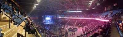 Mohegan Sun Arena, section: 115, row: B, seat: 12