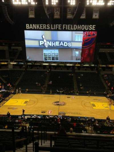 Bankers Life Fieldhouse section 104