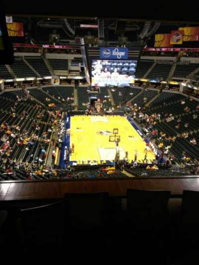 Bankers Life Fieldhouse section Varsity Clib