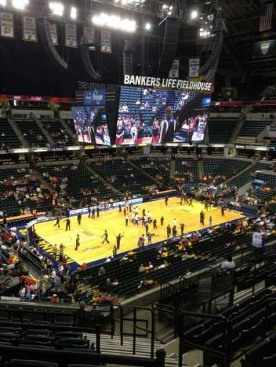 Bankers Life Fieldhouse section 120