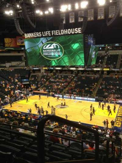 Bankers Life Fieldhouse section 115