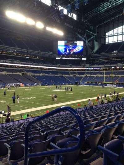 Lucas Oil Stadium, section: 145, row: 16, seat: 1