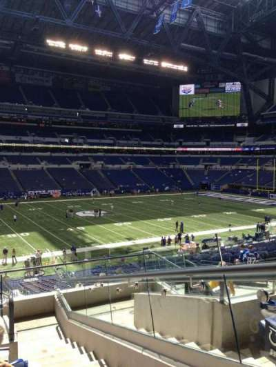 Lucas Oil Stadium section 243