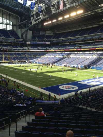 Lucas Oil Stadium section 105
