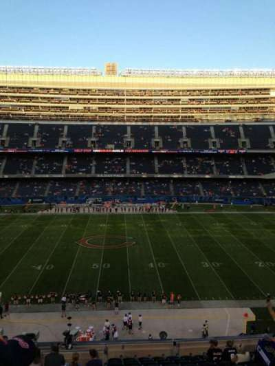 Soldier Field, section: 336, row: 13, seat: 3