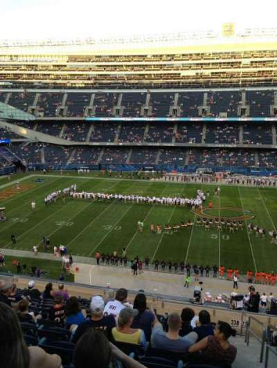 Soldier Field, section: 338, row: 14, seat: 19