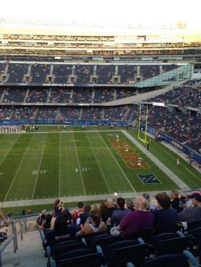 Soldier Field, section: 333, row: 14, seat: 2