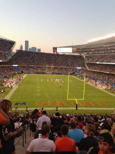 Soldier Field, section: 223, row: 21, seat: 1
