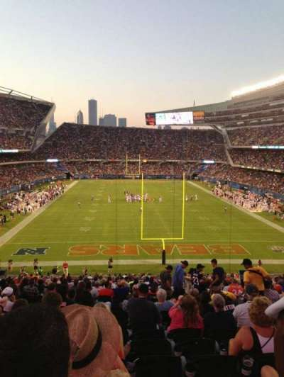 Soldier Field, section: 223, row: 22, seat: 15