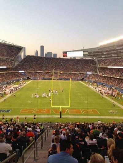 Soldier Field, section: 222, row: 2, seat: 11