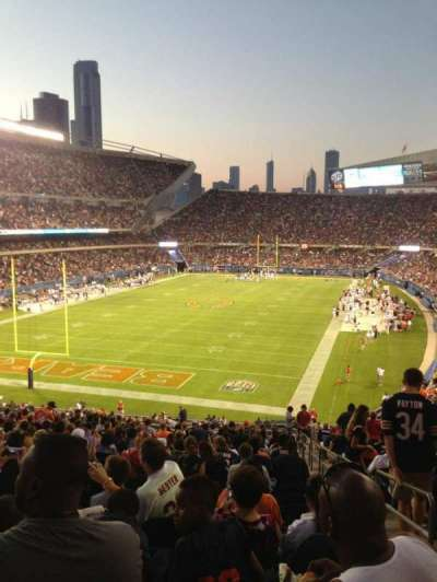 Soldier Field, section: 220, row: 21, seat: 18