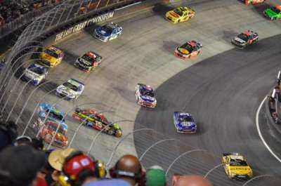 Bristol Motor Speedway, section: Waltrip Section B, row: 44, seat: 13