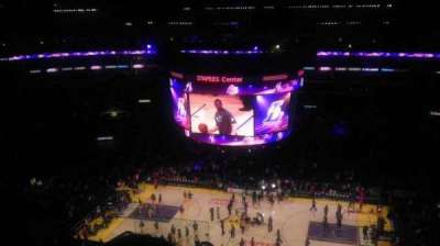 Staples Center section 317