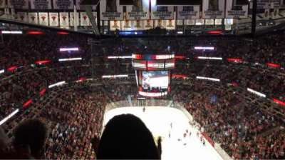 United Center, section: 310, row: 16, seat: 8