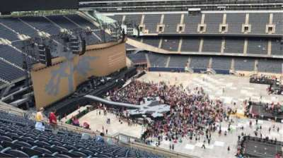 Soldier Field, section: 438, row: 20, seat: 21