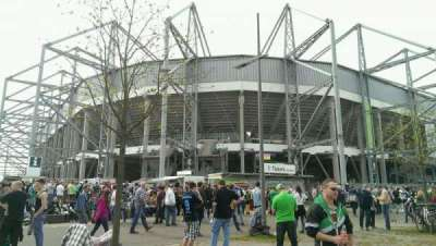 Borussia Park, section: Outside