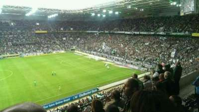 Borussia Park, section: 10A, row: 4, seat: 15