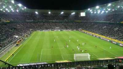 Borussia Park, section: 3A, row: 4, seat: 10