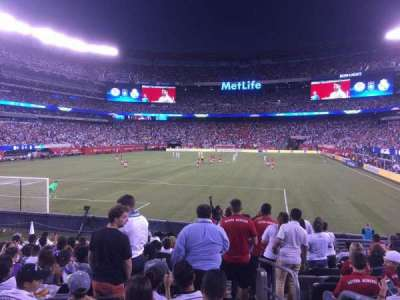 MetLife Stadium, section: 124, row: 13, seat: 1