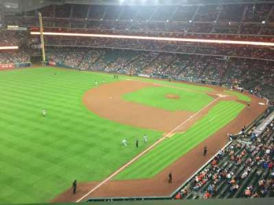 Minute Maid Park, section: 305, row: 1, seat: 13