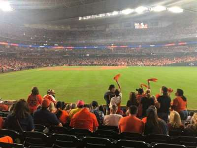 Minute Maid Park section 154