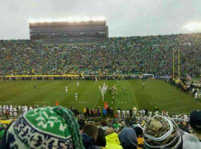 Notre Dame Stadium section 7