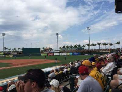 McKechnie Field, section: 8, row: 3, seat: 13