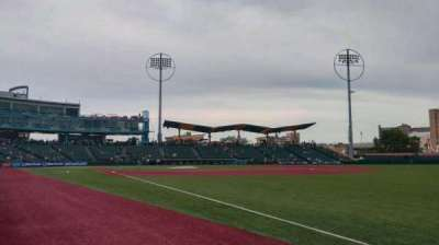 MCU Park, section: 24, row: AA, seat: 3