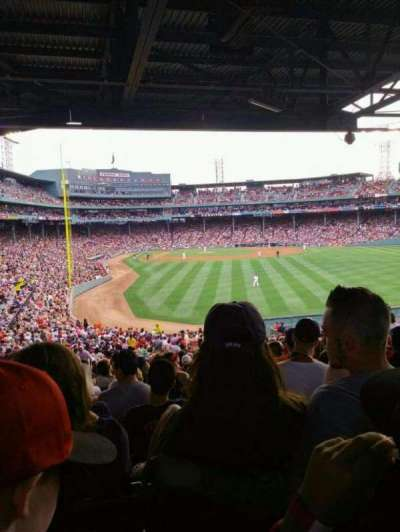 Fenway Park section 12