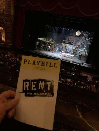 The Fabulous Fox Theatre (St. Louis), section: Mezzanine 5, row: AA, seat: 2