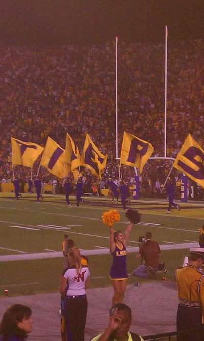 Tiger Stadium section 100