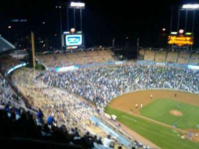 Dodger Stadium section 7TD