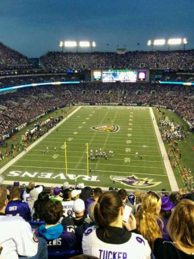 M&T Bank Stadium, section: 512, row: 11, seat: 10