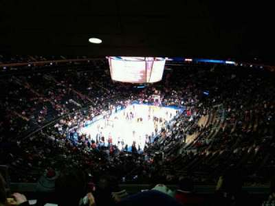 Madison Square Garden, section: 419, row: 5, seat: 3