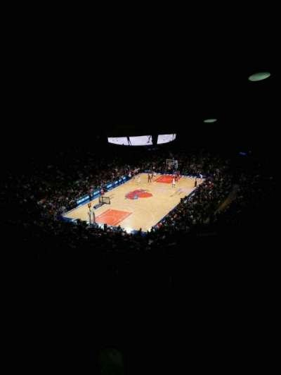 Madison Square Garden, section: 419, row: 6, seat: 9