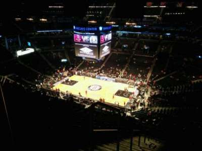 Barclays Center, section: 221, row: 16, seat: 26