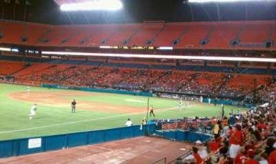 Hard Rock Stadium section 106