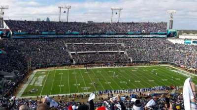 TIAA Bank Field, section: 438, row: N, seat: 22