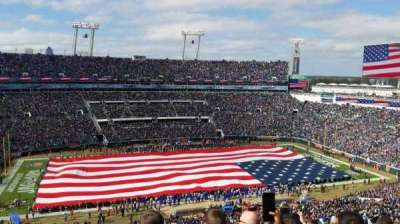 EverBank Field, section: 438, row: N, seat: 22