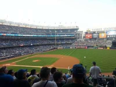 Yankee Stadium, section: 214A, row: 15, seat: 1