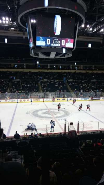MTS Centre, section: 219, row: 2, seat: 10