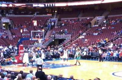 Wells Fargo Center, section: 102, row: 7, seat: 11